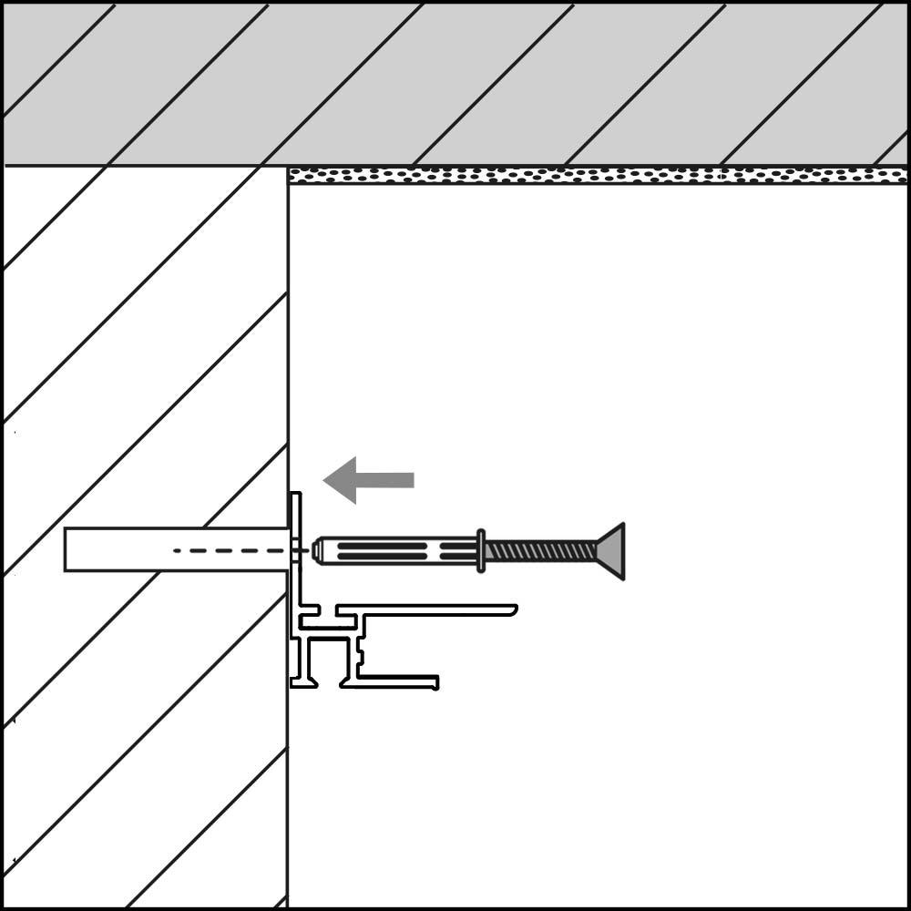 montage gipsplattenschiene