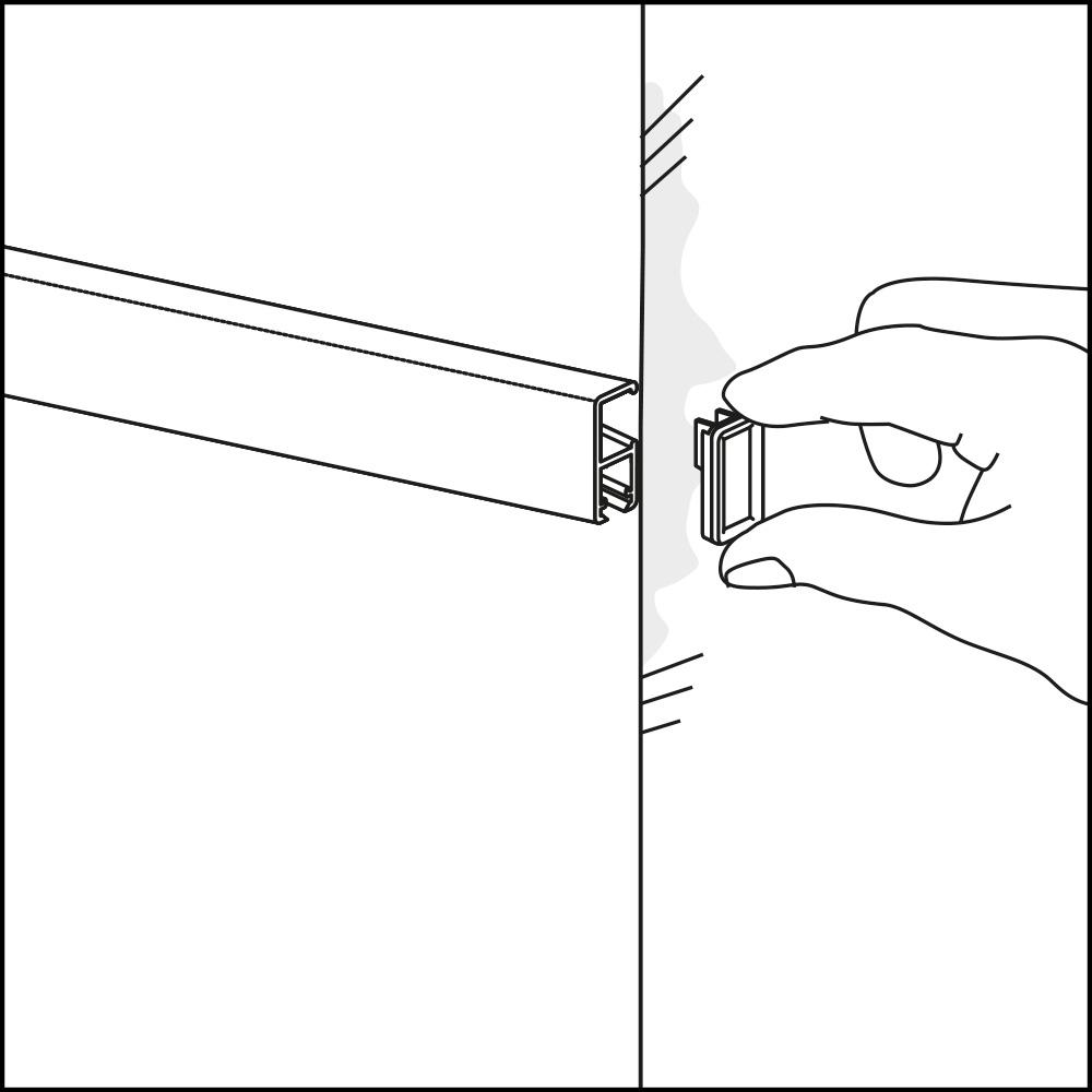montage cliprail
