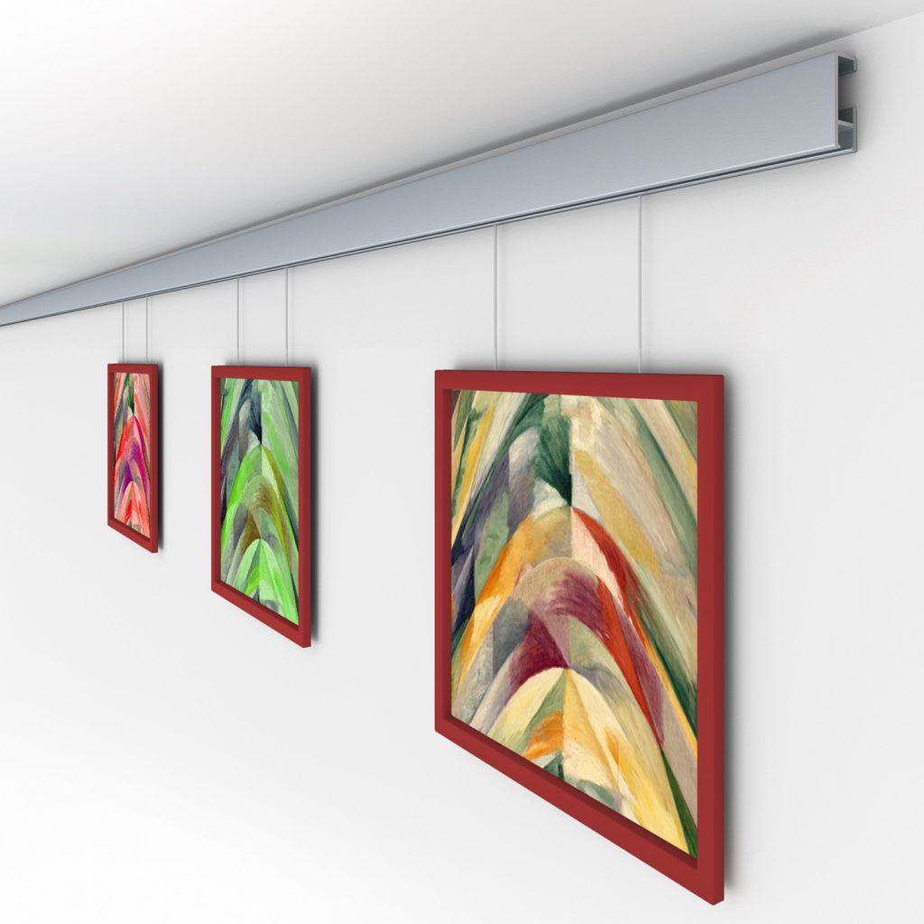 Bilderschienen Struessmann Bilderschienen Galerieschienen
