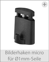 bilderhaken micro für 1mm-seile