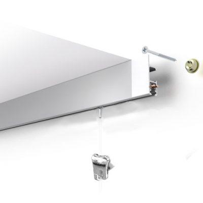 bilderschiene mit licht multirail-max classic weiß