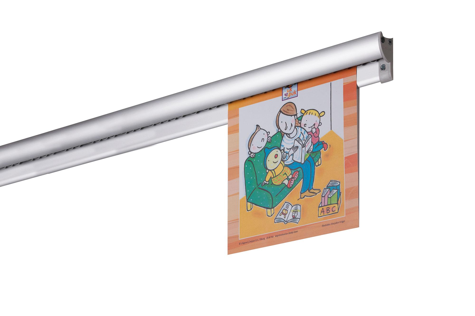 klemmschiene paperrail wandschiene