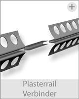 plasterail unterputzschiene verbinder