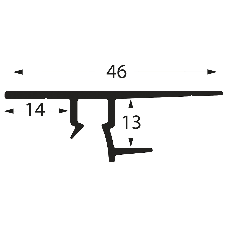 profil deckenplattenschiene DP250