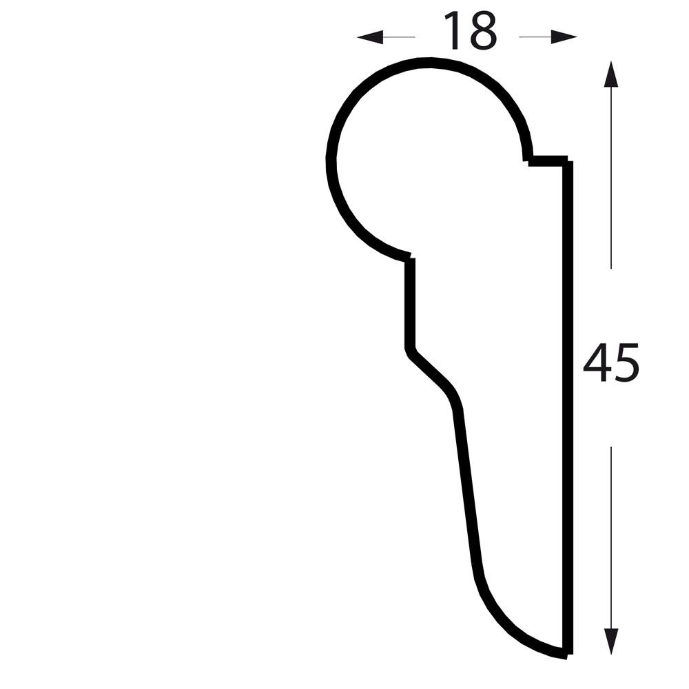 profil holzschiene bilderschiene-windsor