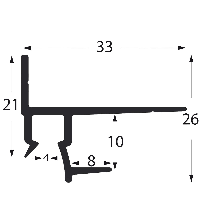 profil gipskartonschiene GK25010