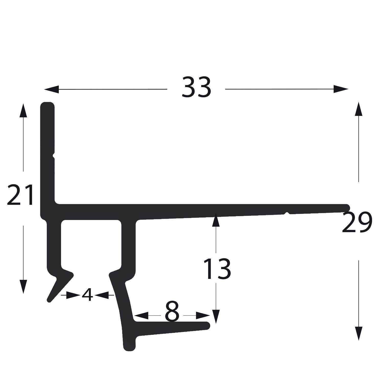 profil gipskartonschiene GK25013
